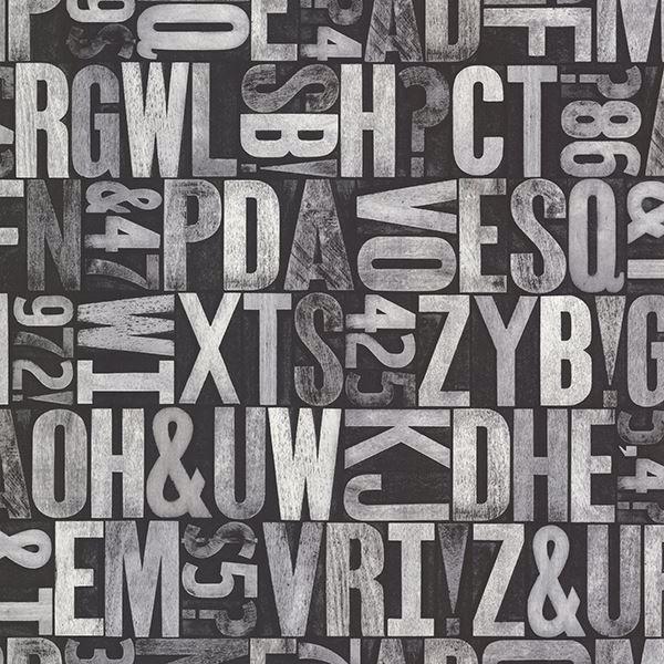 Picture of Great Scott Black Alphabet