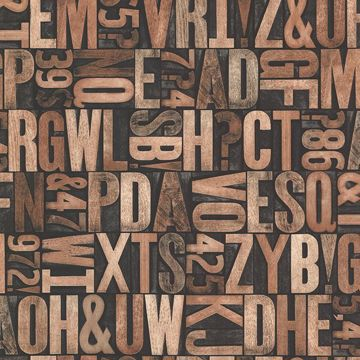 Picture of Great Scott Copper Alphabet