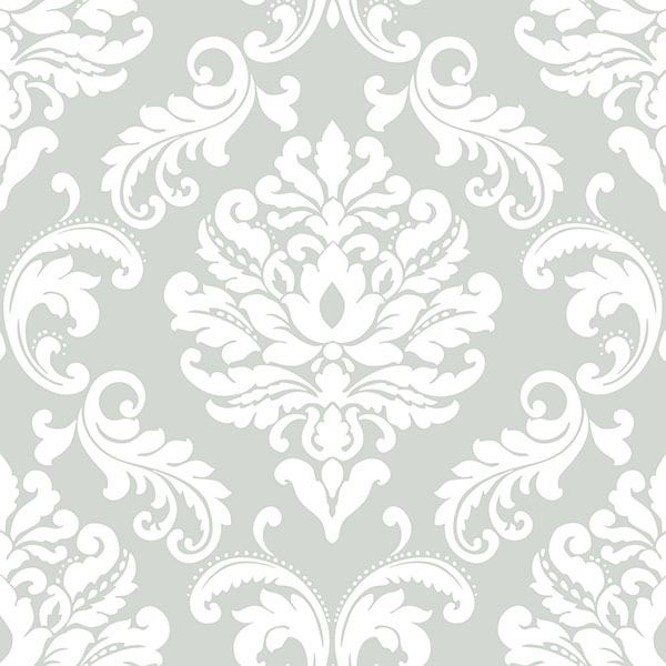 Picture of Ariel Grey Peel And Stick Wallpaper