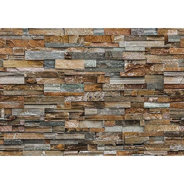 Picture of Colorful Stone Wall Mural