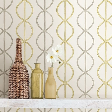 Picture of Banning Stripe Honey Geometric