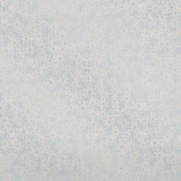 Picture of Janie Light Blue Metallic Floral