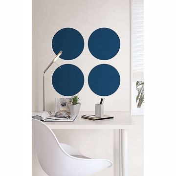 Picture of Indigo Blue Dot Decal