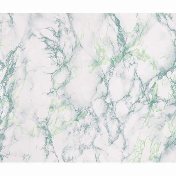 Picture of Green & White Marble Adhesive Film