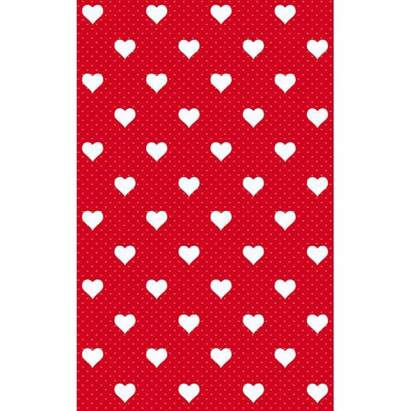 Picture of Red Hearts Adhesive Film