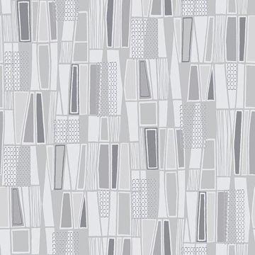 Picture of Taavi Grey Retro Geometric
