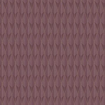 Picture of Padma Purple Geometric Texture