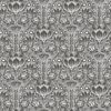 Picture of Odessa Black Garden Damask