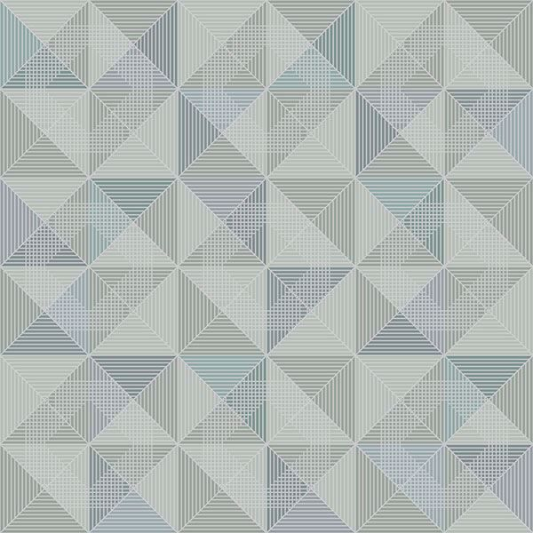 Picture of Dabria Blue Geometric
