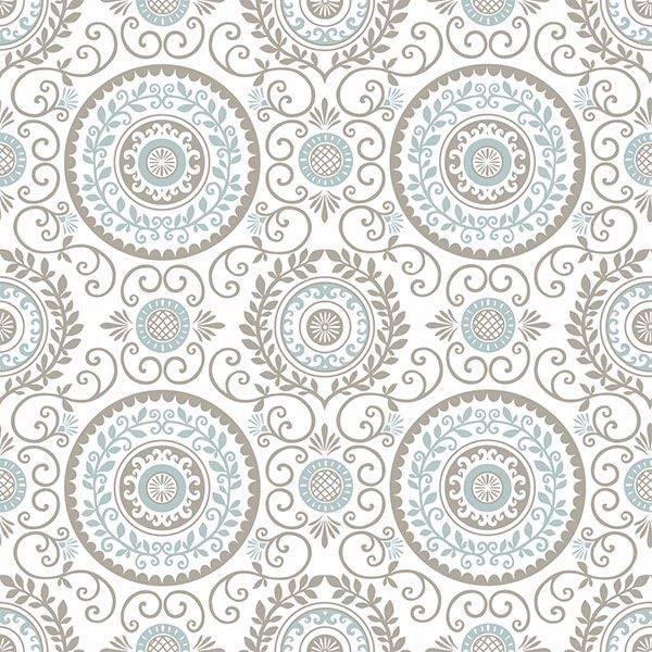 Nu1565 Mirabel Medallion Peel And Stick Wallpaper By