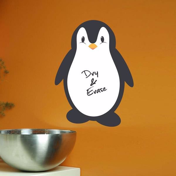 Picture of Penguin Whiteboard Wall Decals