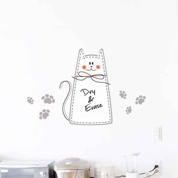 Picture of Cat Whiteboard Wall Decals