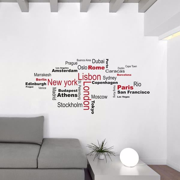 Picture of Cities Wall Decals