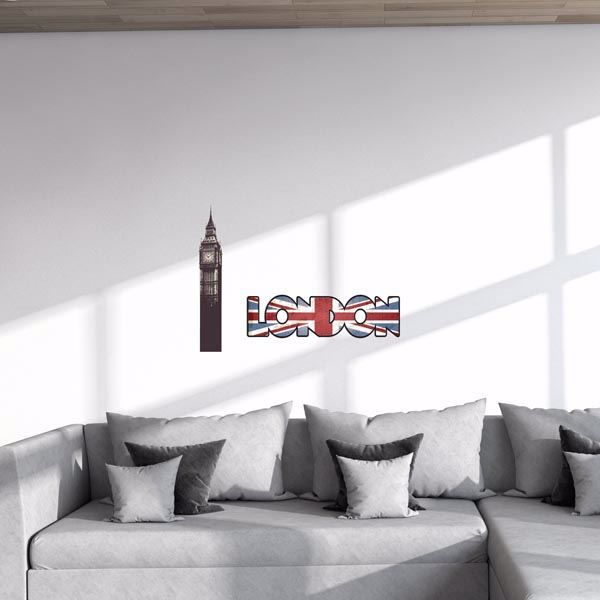 Picture of London Wall Decals