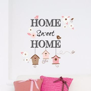 Picture of Home Sweet Home Wall Decals