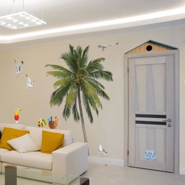 Picture of Summer Palm Wall Decals