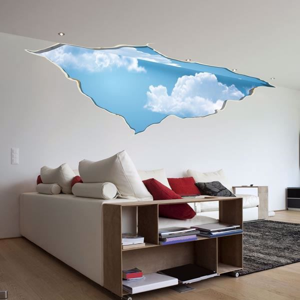 Picture of Break in the Sky Wall Decals