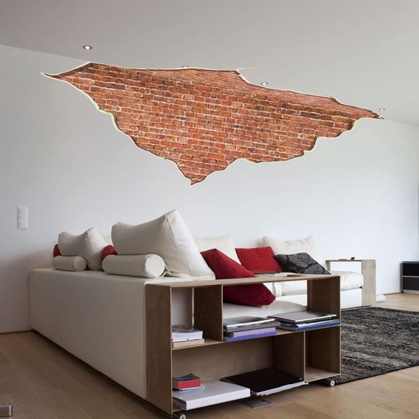 Picture of Break in the Wall Wall Decals