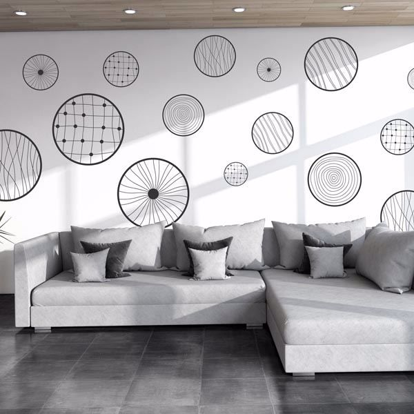 Picture of Fantasy Circles Wall Decals