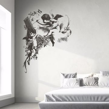 Picture of Drawn Little Angels Wall Decals