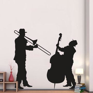 Picture of Jazz Duo Wall Decals