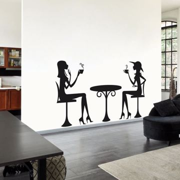 Picture of Tea Time Wall Decals