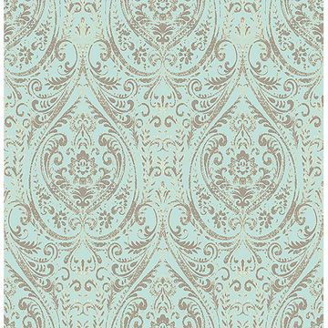 Picture of Nomad Damask Peel And Stick Wallpaper