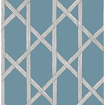 Picture of Mandara Blue Trellis