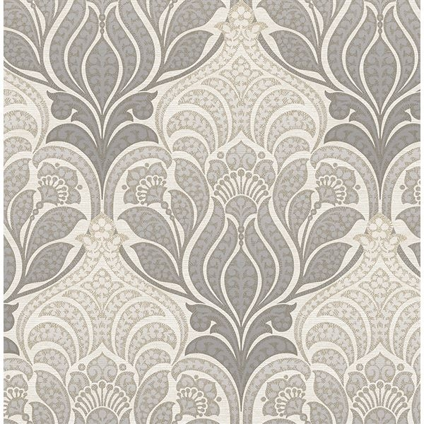 Picture of Twill Charcoal Damask