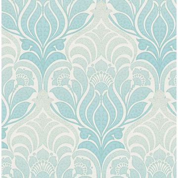 Picture of Twill Aqua Damask