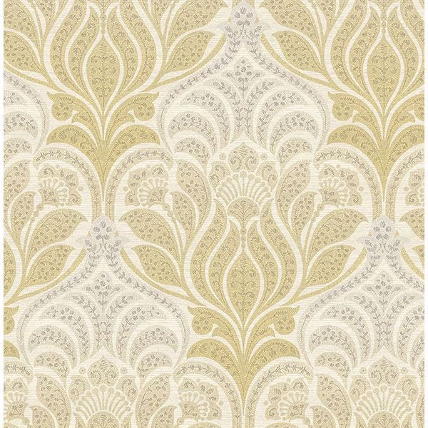 Picture of Twill Yellow Damask