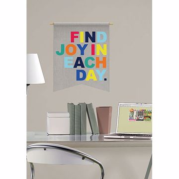 Picture of Find Joy in Each Day Wall Quote Decals