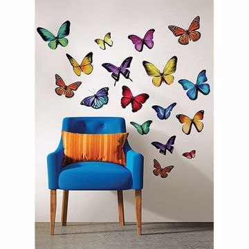 Picture of Papillon Multi Small Wall Art Kits