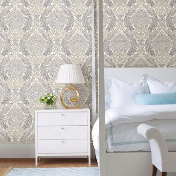 Picture of Fontaine Grey Damask