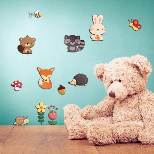 Picture of Happy Forest 3D Wall Decals