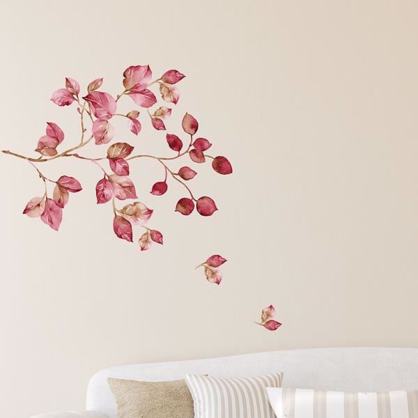 Picture of Pink Watercolor Wall Decals