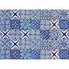 Blue Azulejos Kitchen Panel Decal