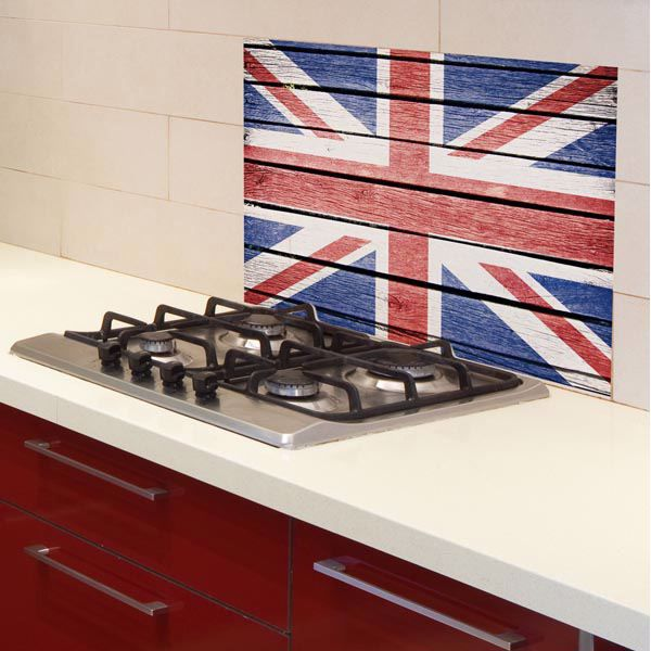 Picture of Union Jack Kitchen Panel Decal
