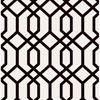 Trellis Black Montauk Wallpaper