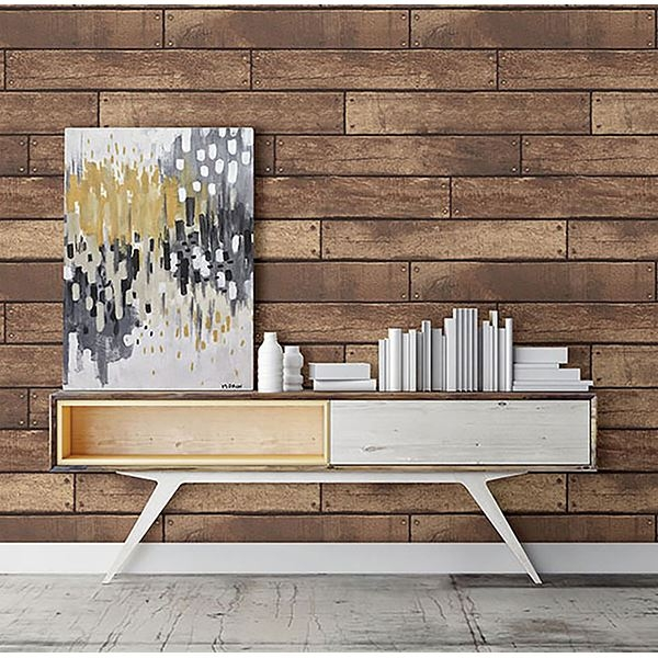 Picture of Weathered Brown Nailhead Plank