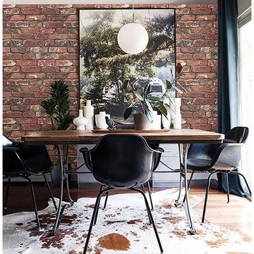 Picture of Loft Red Brick Wallpaper