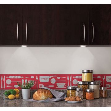 Picture of Red Cook Peel and Stick Border