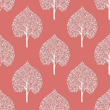Picture of Grove Coral Peel And Stick Wallpaper