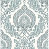 Picture of Kensington Damask Blue Peel And Stick Wallpaper