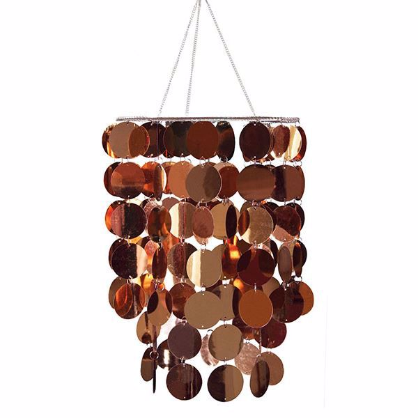 Picture of Copper Eclipse Chandelier