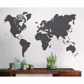 Picture of The World Is Yours Giant Wall Art Kit