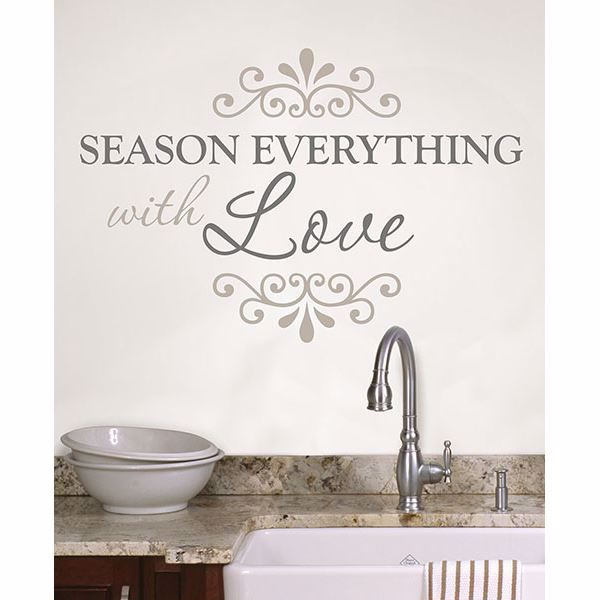 Picture of Season Everything Wall Quote Decals