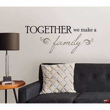 Picture of Together Wall Quote Decals