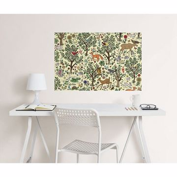 Picture of Wilderness Coloring Wall Decals