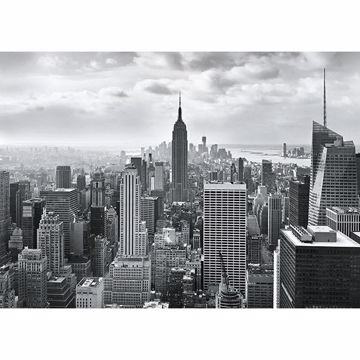Picture of NYC Black and White Wall Mural